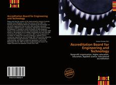 Bookcover of Accreditation Board for Engineering and Technology