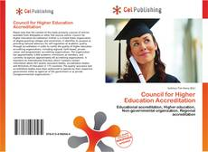 Bookcover of Council for Higher Education Accreditation