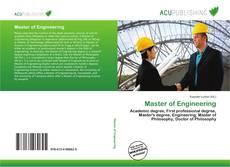 Capa do livro de Master of Engineering