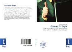Bookcover of Edward G. Boyle
