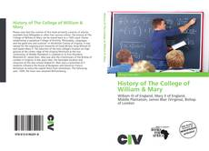 Обложка History of The College of William & Mary