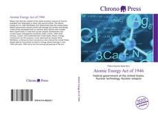 Capa do livro de Atomic Energy Act of 1946
