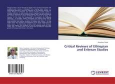 Buchcover von Critical Reviews of Ethiopian and Eritrean Studies