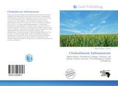 Borítókép a  Chidambaram Subramaniam - hoz