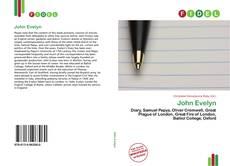Bookcover of John Evelyn