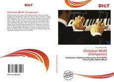 Bookcover of Christian Wolff (Composer)