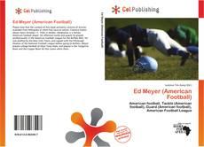 Обложка Ed Meyer (American Football)