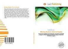 Bookcover of Mickey Sutton (Cornerback)