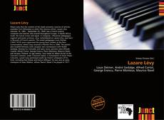 Lazare Lévy kitap kapağı