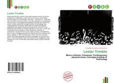 Bookcover of Lester Trimble