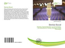 Bookcover of Denise Duval