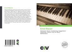 Buchcover von Ernst Bacon