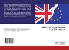 Portada del libro de Brexit: An Economic and Political Analysis