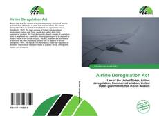 Couverture de Airline Deregulation Act