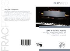 John Hicks (Jazz Pianist)的封面