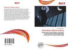 Capa do livro de Dearborn Observatory