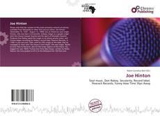 Buchcover von Joe Hinton
