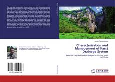 Couverture de Characterization and Management of Karst Drainage System