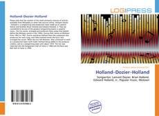 Buchcover von Holland–Dozier–Holland