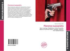 Portada del libro de Florence Lassandro
