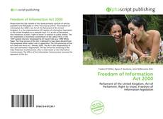 Bookcover of Freedom of Information Act 2000