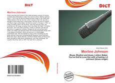 Bookcover of Merline Johnson