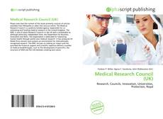 Medical Research Council (UK) kitap kapağı