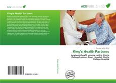 Bookcover of King's Health Partners