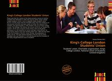 Borítókép a  King's College London Students' Union - hoz