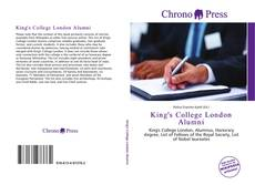 Обложка King's College London Alumni