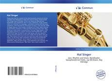 Copertina di Hal Singer