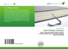 Bookcover of John Phillips (Author)