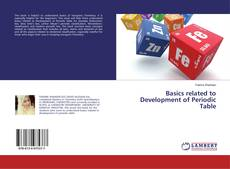 Bookcover of Basics related to Development of Periodic Table