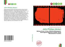 Couverture de John Phillips (Actor)
