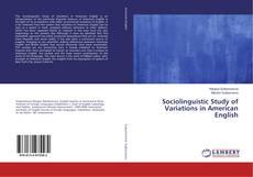 Portada del libro de Sociolinguistic Study of Variations in American English