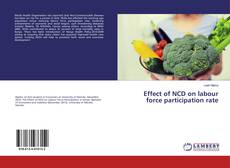 Copertina di Effect of NCD on labour force participation rate