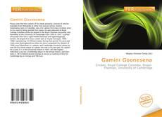 Capa do livro de Gamini Goonesena