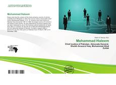 Bookcover of Mohammad Haleem