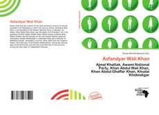 Buchcover von Asfandyar Wali Khan