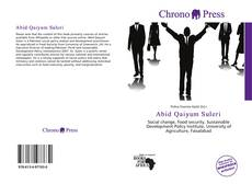 Bookcover of Abid Qaiyum Suleri