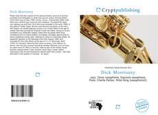 Dick Morrissey kitap kapağı