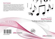 Bookcover of Bud Freeman