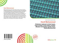 Bookcover of Hanif Mohammad