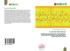 Bookcover of Lonnie Simmons
