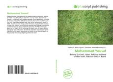 Bookcover of Mohammad Yousuf
