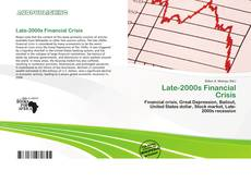 Bookcover of Late-2000s Financial Crisis