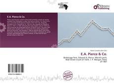 Portada del libro de E.A. Pierce & Co.