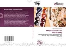 Borítókép a  Marie-Louise Von Motesiczky - hoz