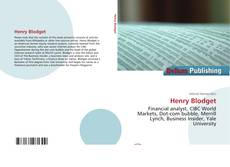 Bookcover of Henry Blodget