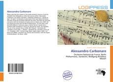 Couverture de Alessandro Carbonare